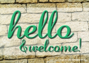 Seren welcome sign #2