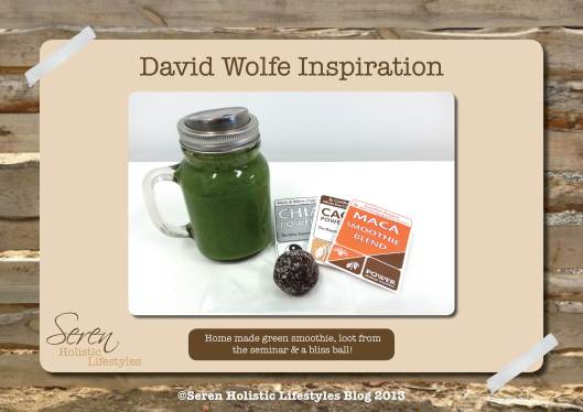 Seren Blog David Wolfe stuff