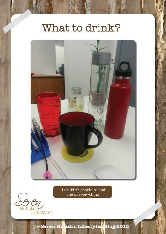 Seren Blog drink selection