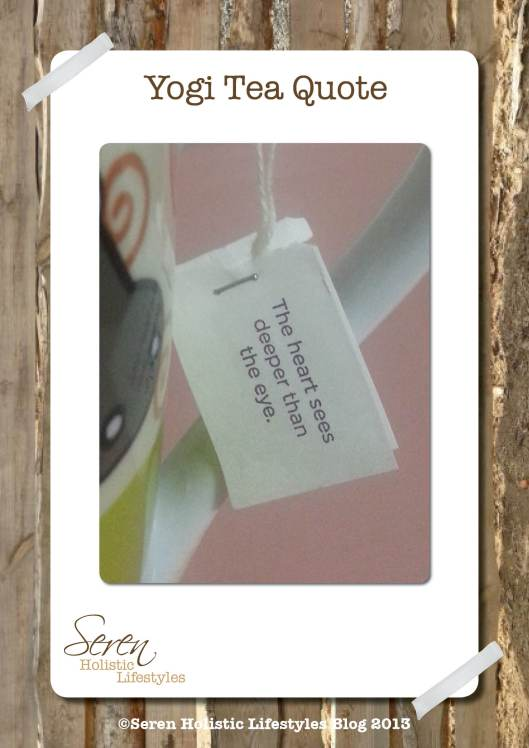 Seren Blog Yogi tea tag heart