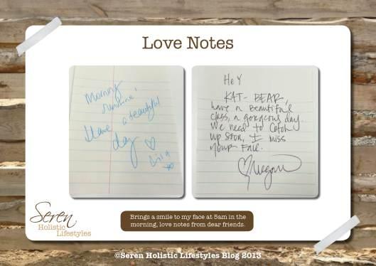 Seren Love Notes