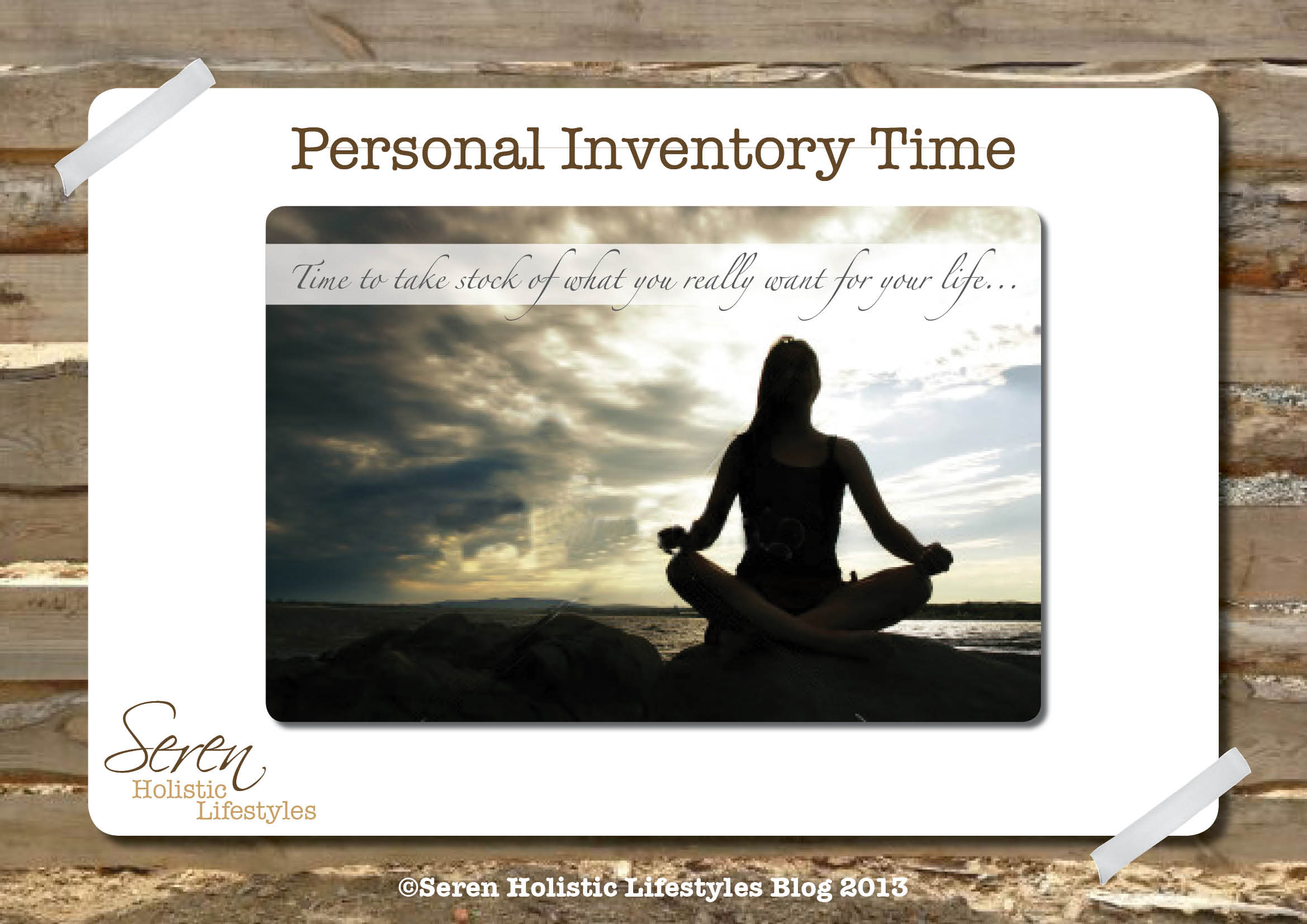 Personal Inventory | Seren Holistic Lifestyles
