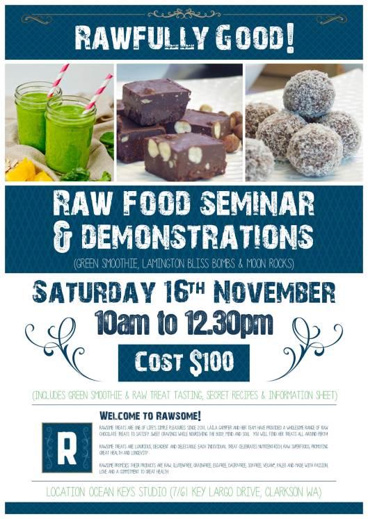 Seren Raw Food Workshop