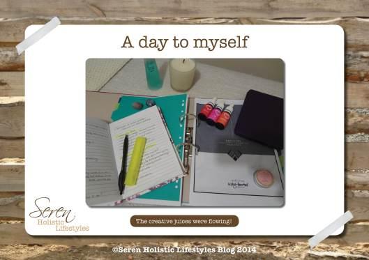 Seren Blog Sunday to myself